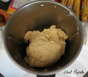 avant d'incorporer le beurre