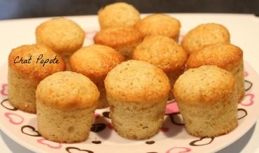 Minis muffins à la vanille