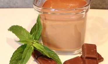 Crèmes chocolat/menthe (à la Multi Délices)