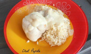 Paupiettes sauce champignons et riz