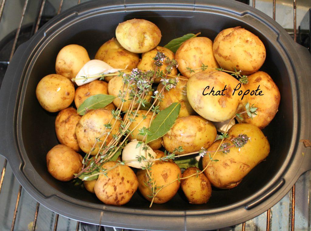 Stupéfiant Recette Ultra Pro 5.7 L Tupperware pommes de terre grenailles aux parfums de provence