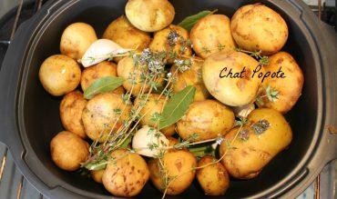 Pommes de terre grenailles aux parfums de Provence