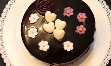 """Le """"Perle"""" de Pascal Lac (entremets vanille et fruits rouges)"""