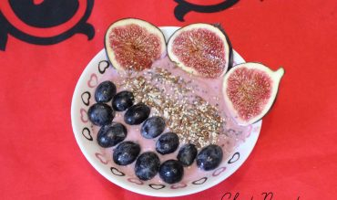 Smoothie Bowl Automnal (figue/raisin noir)