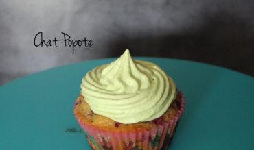 Cupcakes framboise/chocolat blanc et pistache