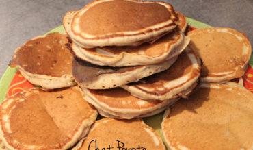 Pancakes à la banane (healthy vegan)