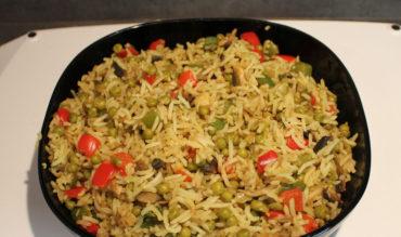 Riz sauté aux légumes façon Thaï