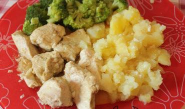 Emincé de poulet au citron confit et au cumin (au micro onde)