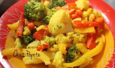 Poêlée de légumes au curry