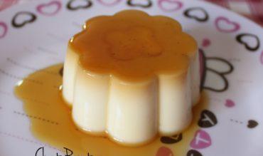 Flamby à la vanille et caramel