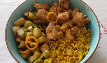 Bowl au poulet Tandoori