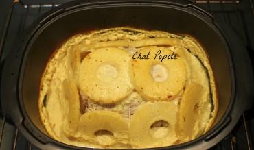 Rôti de porc ananas/coco
