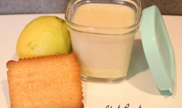 Yaourts façon tarte au citron