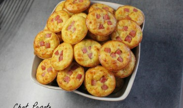 Mini quiches courgette et jambon