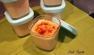 Yaourts façon crème brûlée caramel