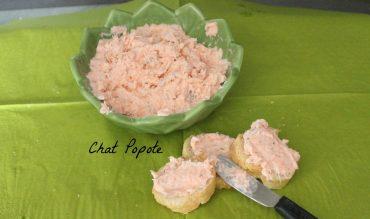 Rillettes de saumon au citron vert