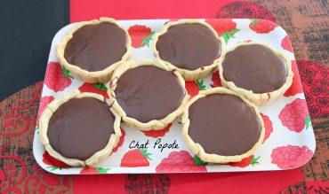 Tartelettes au caramel/chocolat au lait et cacahouètes (Pierre Hermé)