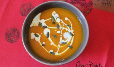 Velouté de potimarron au safran et à l'orange, de Yotam Ottolenghi