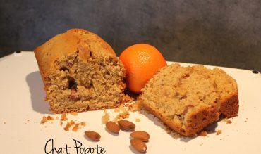 Cake à l'amande et à la clémentine (vegan)