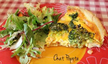 Quiche Poulet/Brocolis/Tomate