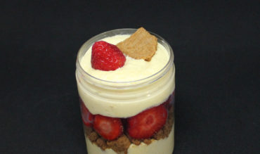Parfait fraises/spéculoos façon Tiramisu