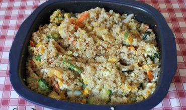 Salade de quinoa grillé (au MPG ou pas)