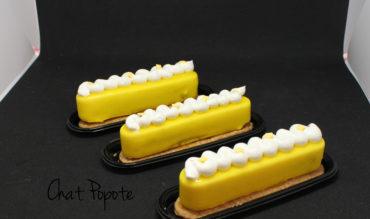 Fashion Eclairs Limoncello, amande et caramel