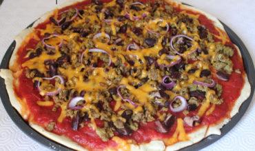Pizza steak & cheese