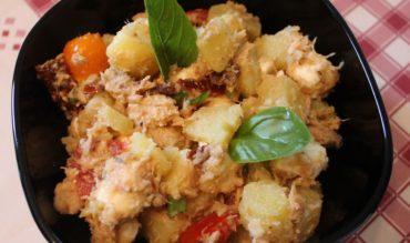 Salade de pomme de terre au thon épicé
