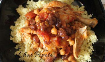 Tajine de poulet à la marocaine (cookeo)