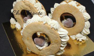 Tartelettes Ring choco/caramel et vanille