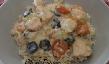 Blanquette de saumon aux petits légumes (cookeo)