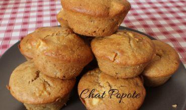 Muffins aux pommes et spéculoos